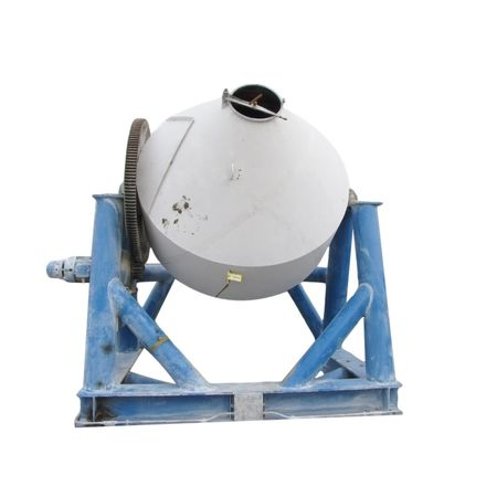 250 Cubic Foot Used Stainless Steel Double Cone Blender