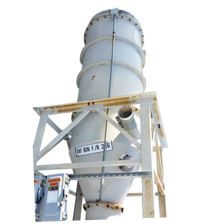 1100 CFM Used Premier Dust Collector Pulsejet Filter Receiver, 570 Sq Ft