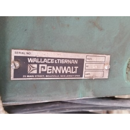 "USED 1.5""Ø WALLACE TIERNAN PENWALT VOLUMETRIC FEEDER (PARTS) - SERIES 32-055"