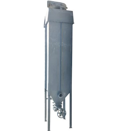 Used 1,120 CFM Ultra Industries Fabric Filter Dust Collector Receiver 160 Sq Ft