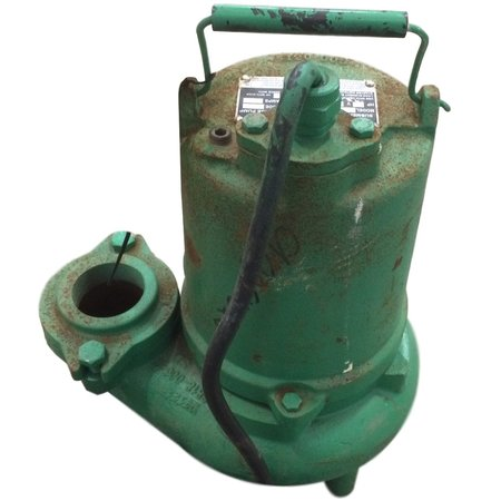 Used 3/4HP Hydromatic Submersible Sump Sewage Pump Model SK75M4