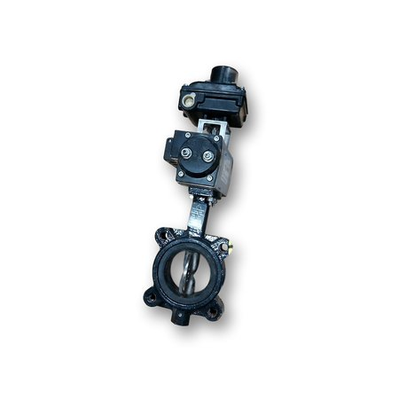 "Used 3""Ø Automated Delta T Butterfly Valve - Series 050"