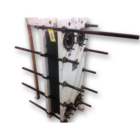 Used Graham Plate Heat Exchanger - 633 Sq. Ft.