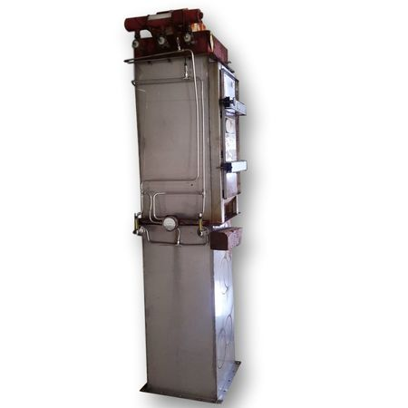 Used Mikropul Stainless Steel Bin Vent Filter - Type 8BV