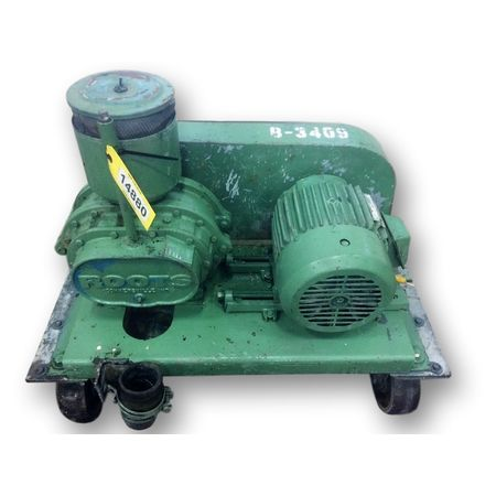 Used 7.5 HP Roots 53 AF Dresser Pressure blower package