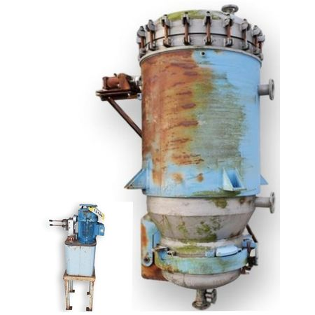 Sparkler Vertical Plate Filter Model VF-E-350