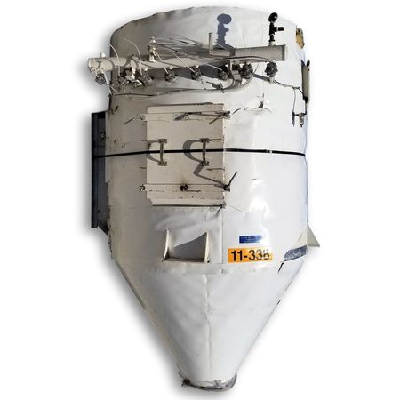 1,800 CFM (257 sq ft) Used Flex-Kleen Industrial Dust Collector Baghouse CT