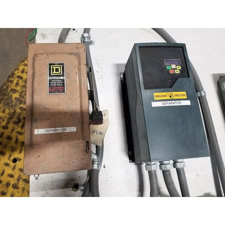 Used Baldor 3HP Variable Speed Controller VFD VS1MX43-2T with Disconnect