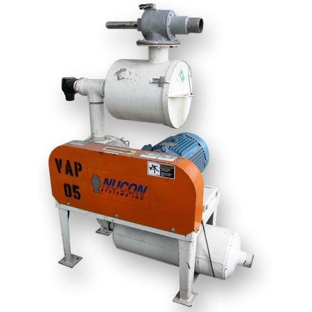 Used 10 HP Roots 45 U-RAI Positive Displacement Blower Package