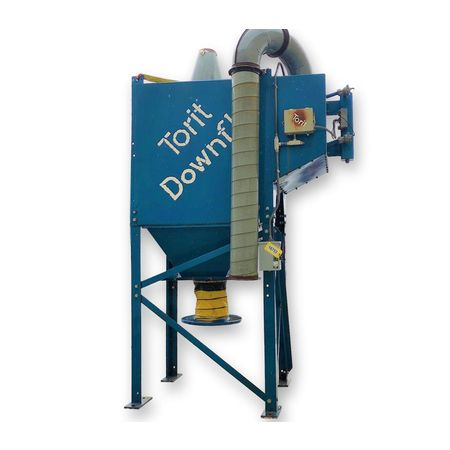 Used 4,000 CFM Donaldson Torit Downflo DF 12-8 Industrial Dust Collector