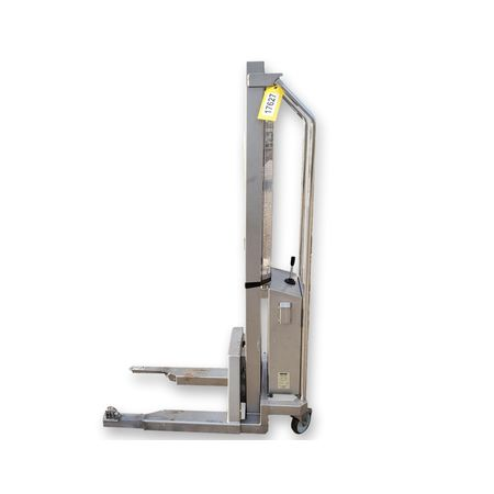 Used Hallins Stainless Steel Battery Powered Lifting Trolley - 400LB Capacity