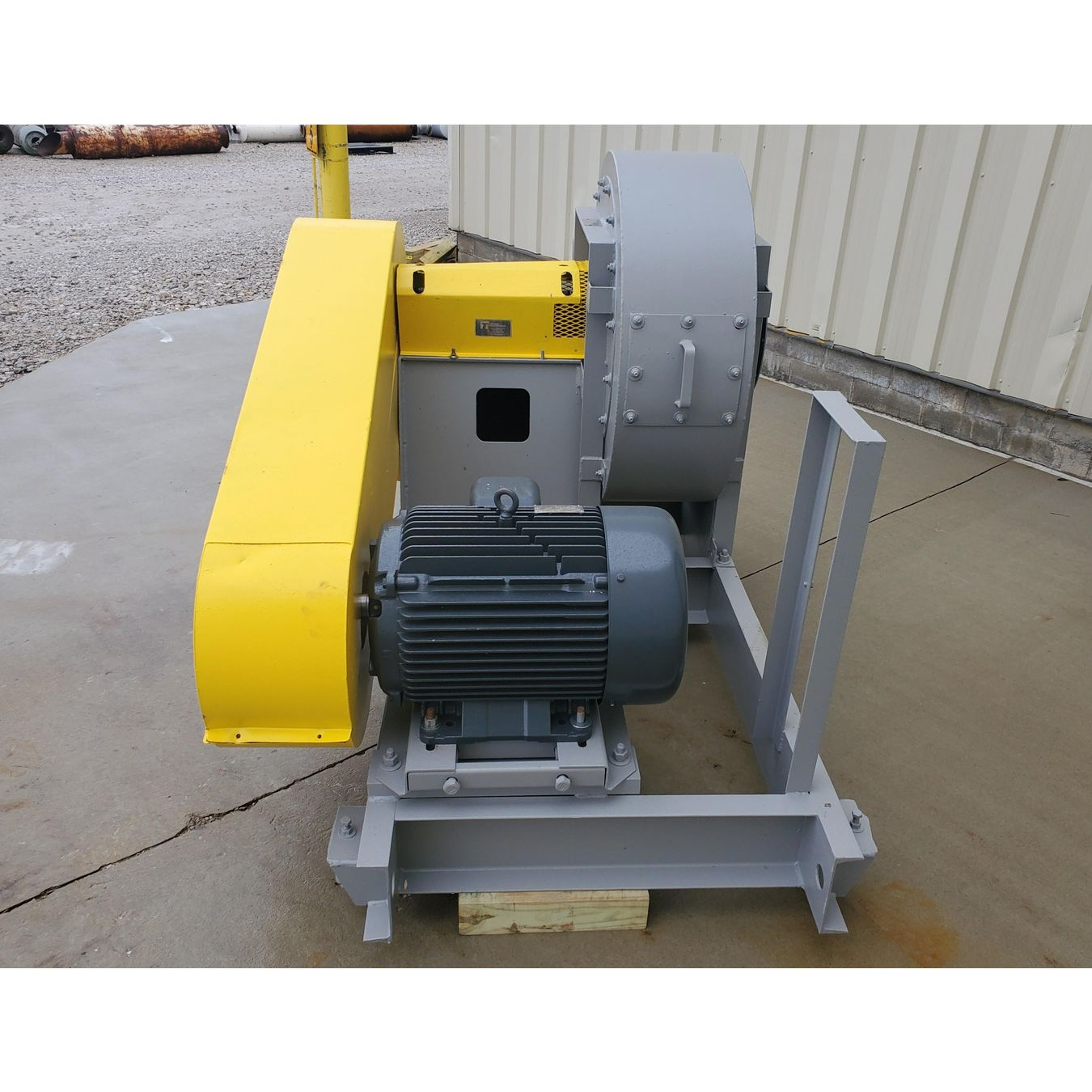 Twin City Fans And Blowers : Used cfm quot sp twin city high pressure fan size