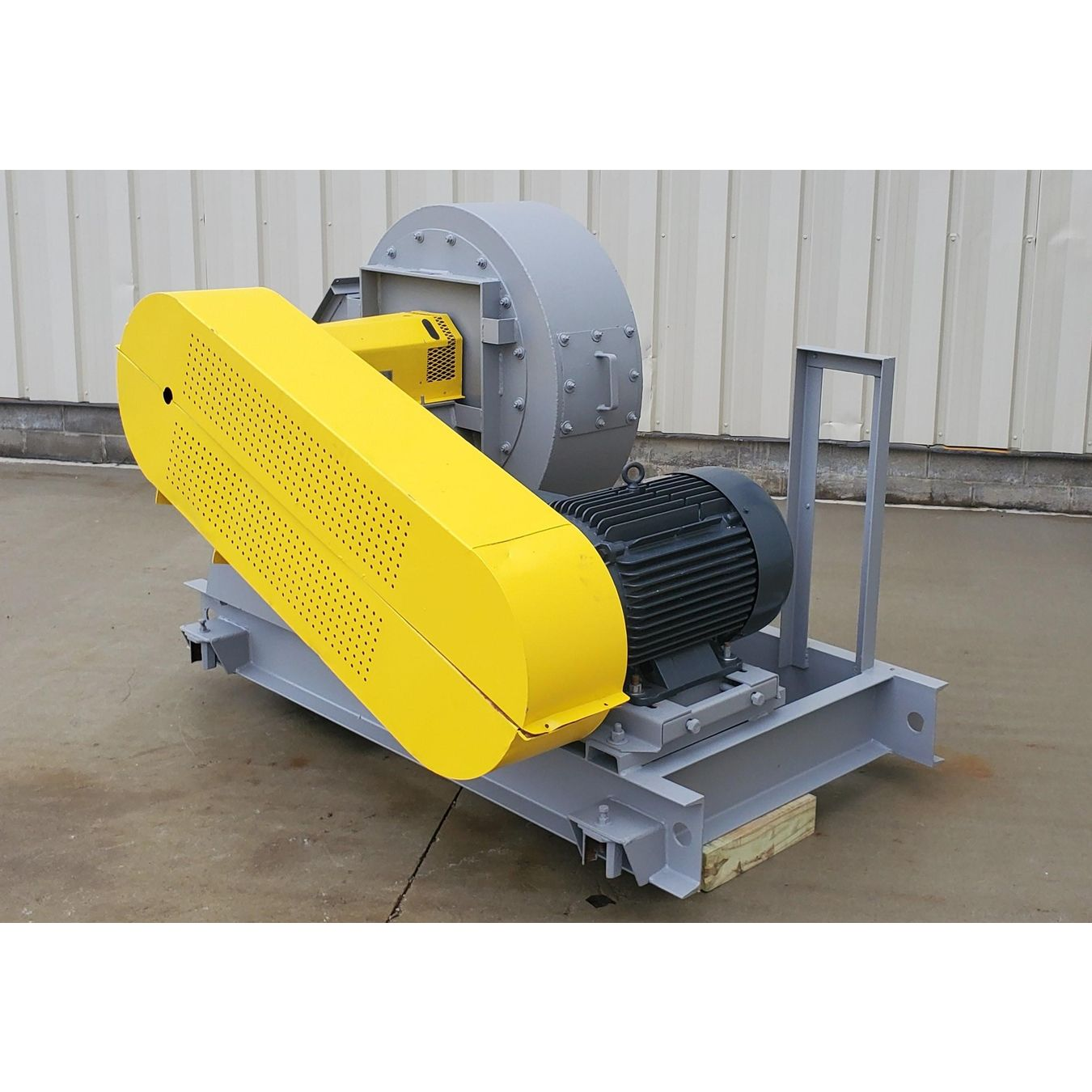 High Static Pressure Blowers : Used cfm quot sp twin city high pressure fan size