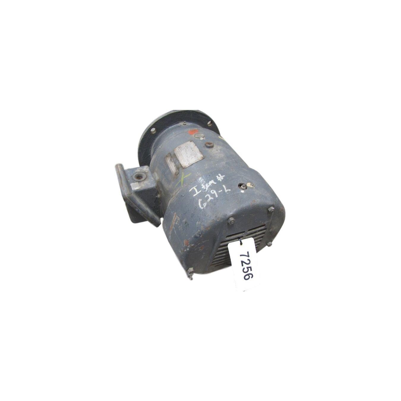 Used Ge 10 Hp Induction Motor 256udz Frame 1760 Rpm