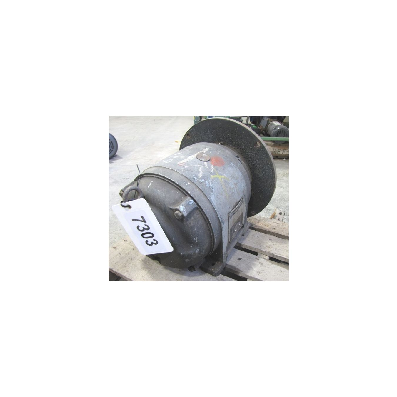 Used Us Electrical 7 5hp Motor 3600 Rpm 215d Frame
