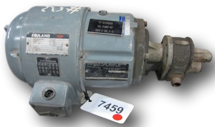 Used hydraulic pump with 1 hp reuland motor pumps for How to size a hydraulic pump and motor