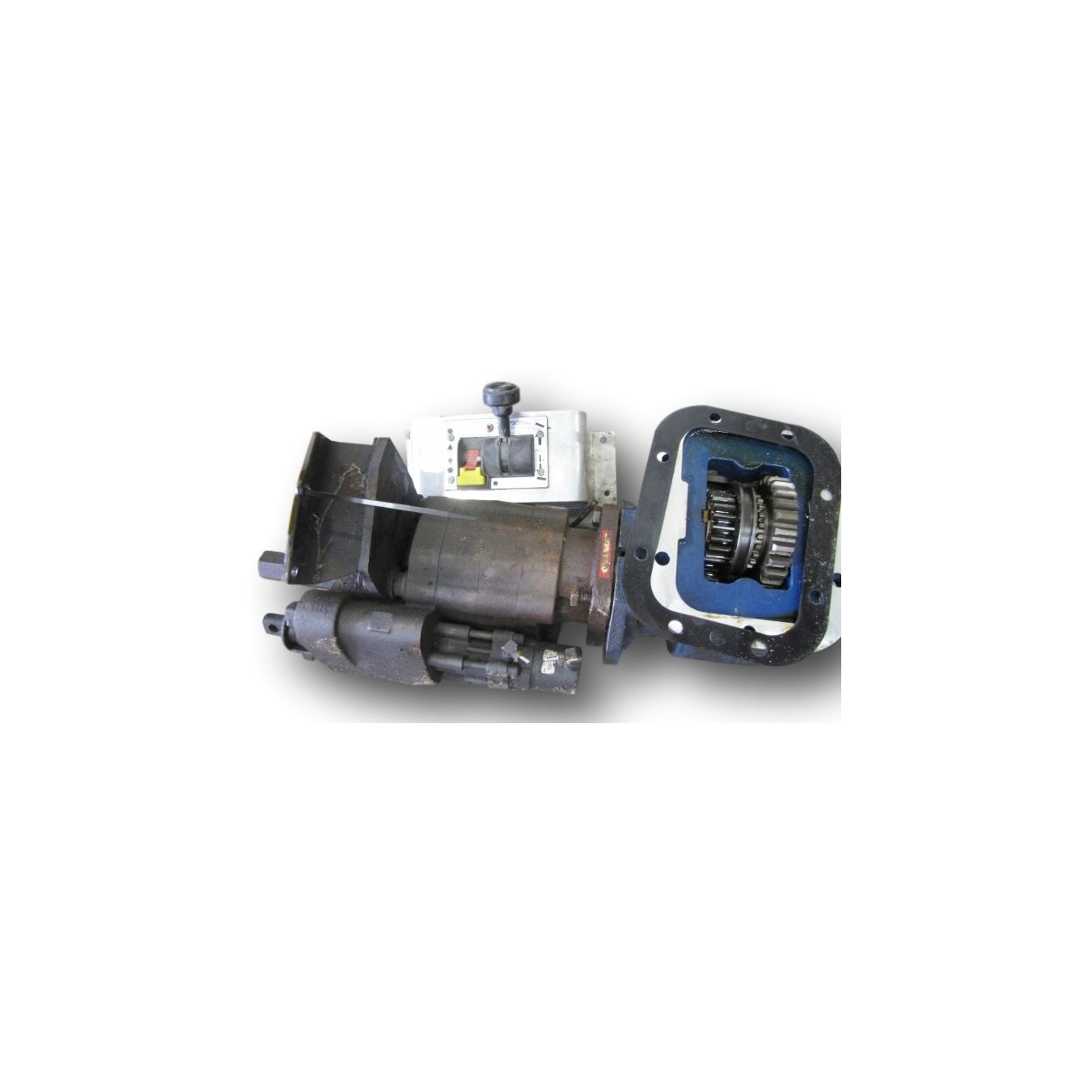 Pump Power Take Off : Used muncie power take off hydraulic pump resevoir