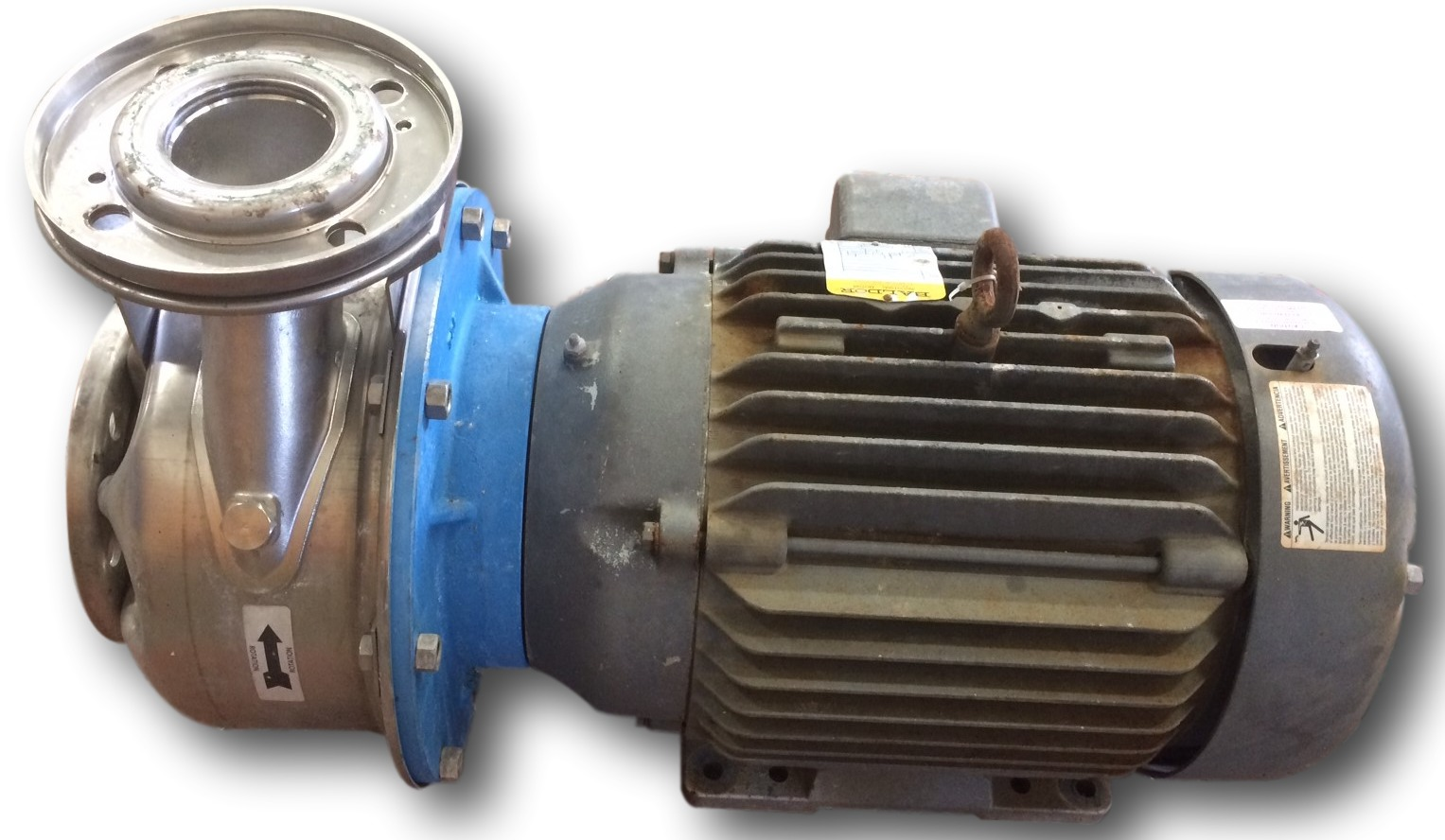 Used 20 Hp Goulds 316 Stainless Steel Centrifugal Pump Ssh