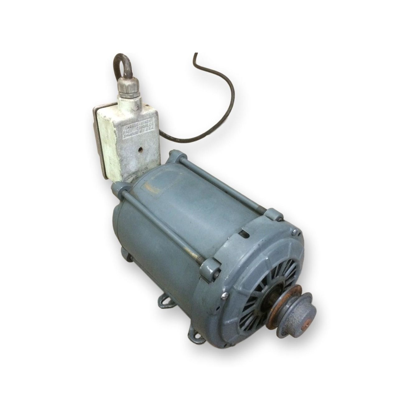 Used 1  3 Hp General Electric Motor  1725 Rpm  115  230 Volt Single Phase 56 Frame For Sale