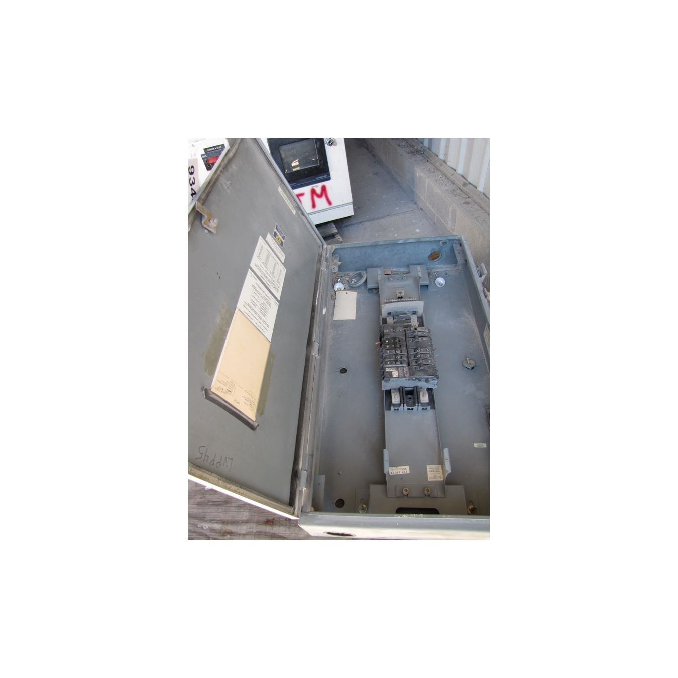Square D Breaker Box Used Electrical Equipment