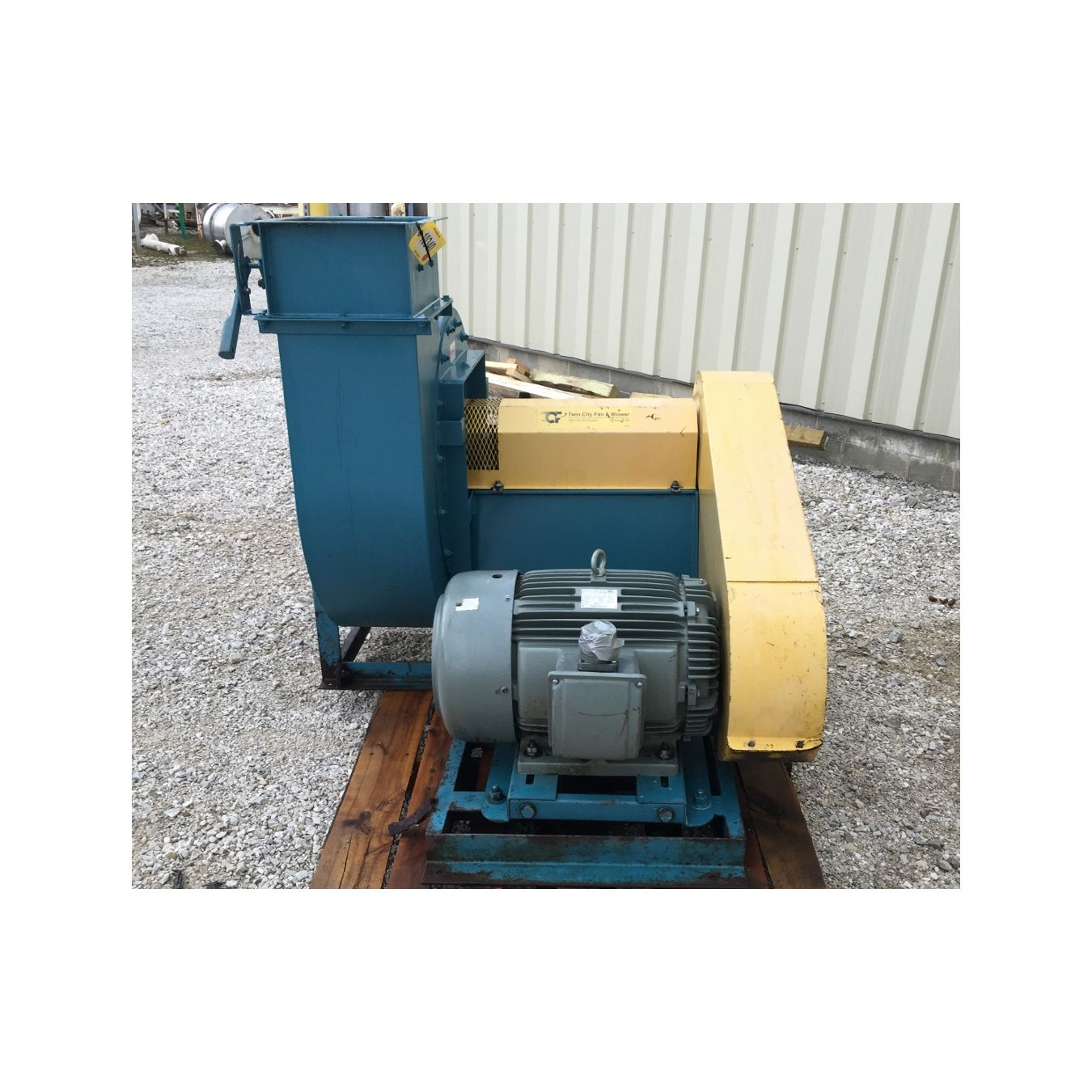 Engine Driven Centrifugal Blower : Cfm quot sp twin city centrifugal fan rba