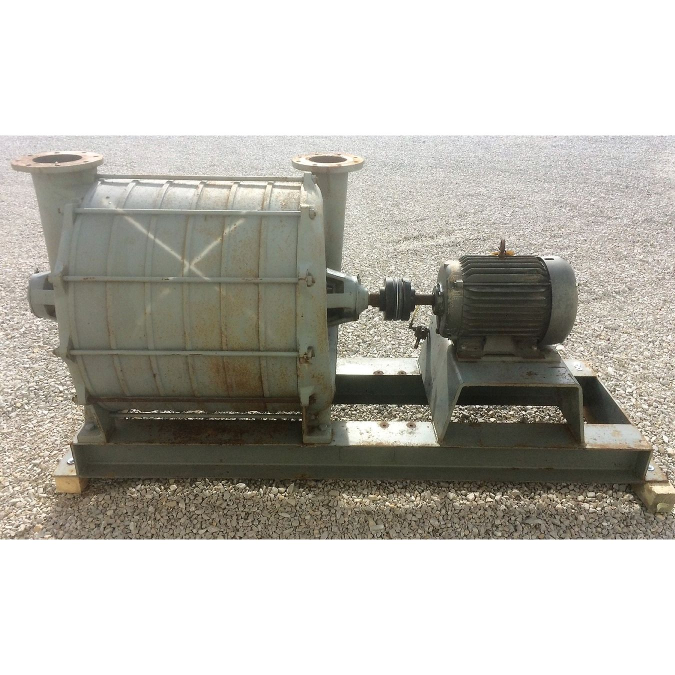 Two Stage Centrifugal Blower : Hp used allen billmyre div lamson multistage