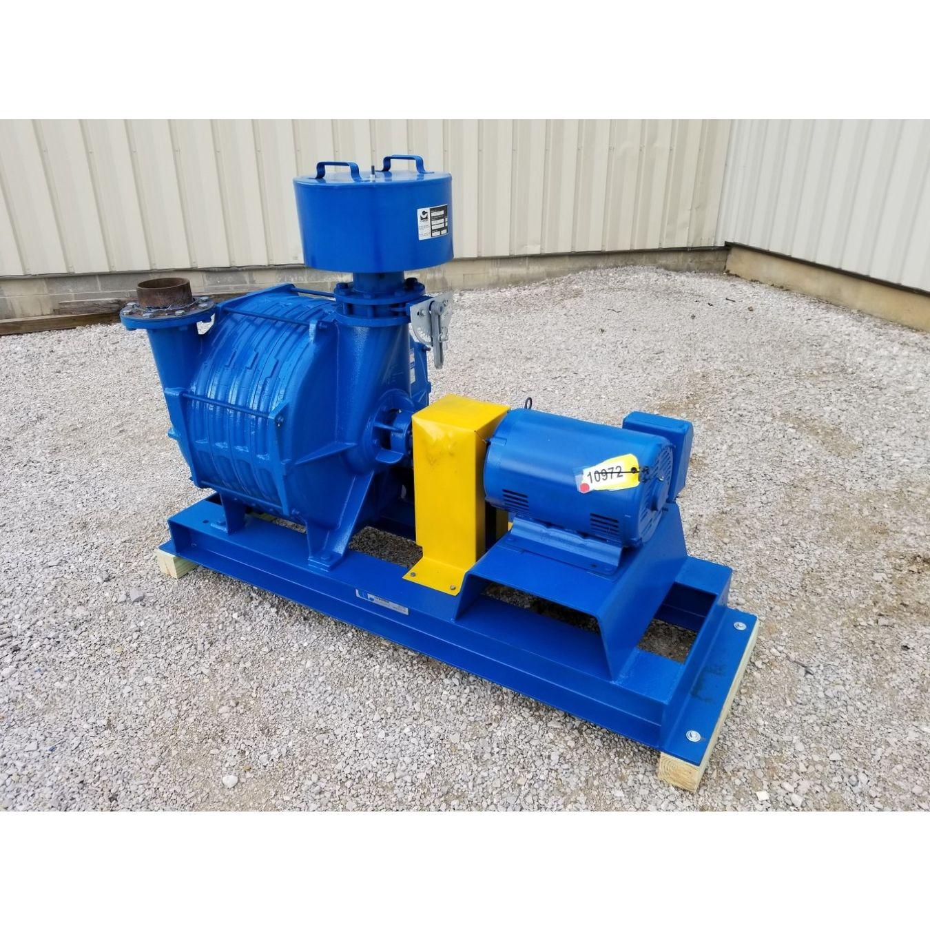 Two Stage Centrifugal Blower : Hp lamson multistage centrifugal blower model