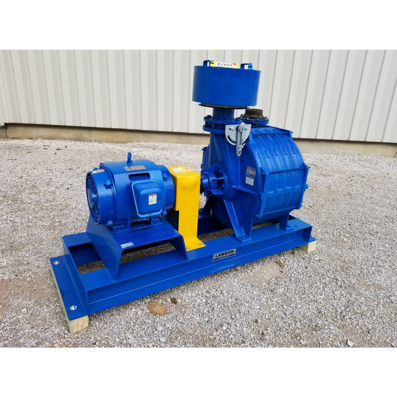 Two Stage Centrifugal Blower : Hp used lamson multistage centrifugal blower exhauster
