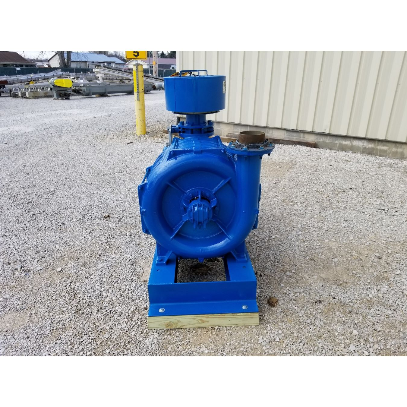 Centrifugal Blower Product : Hp used lamson multistage centrifugal blower exhauster