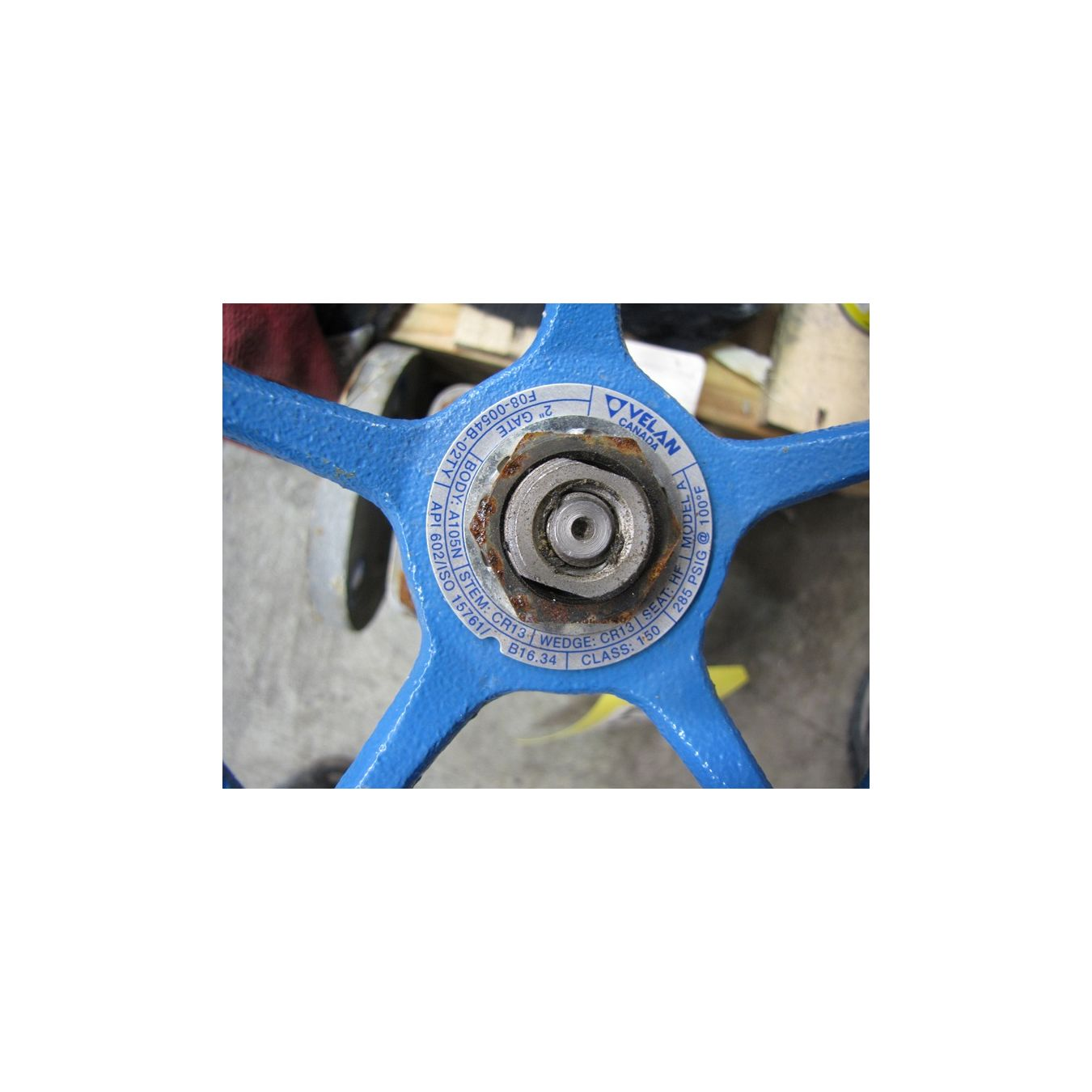 Used Velan 2 Quot Standard Port Gate Valve Model A For Sale