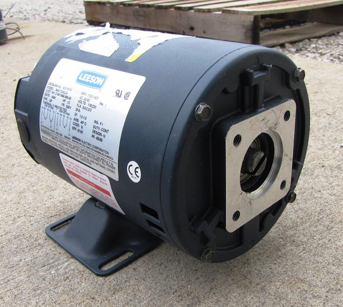 1 3 hp unused leeson electric motor motors drives for Dc motor 1 3 hp