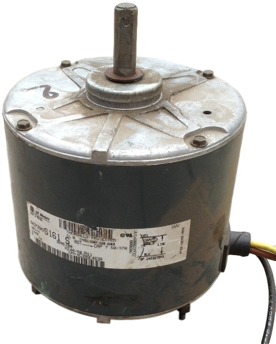 Used Ge 1 4 Hp Electric Motor 1 100 Rpm 460v Single