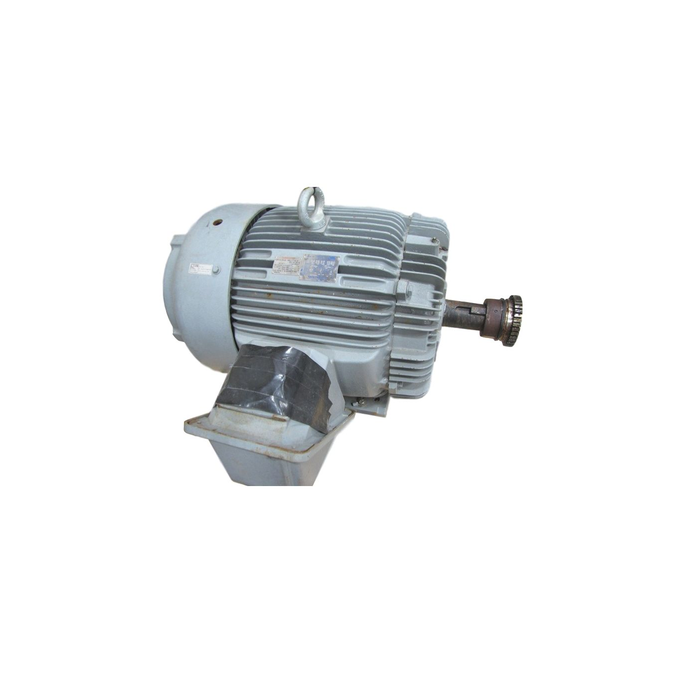 Used 125 Hp Teco Westinghouse Electric Motor Inverter