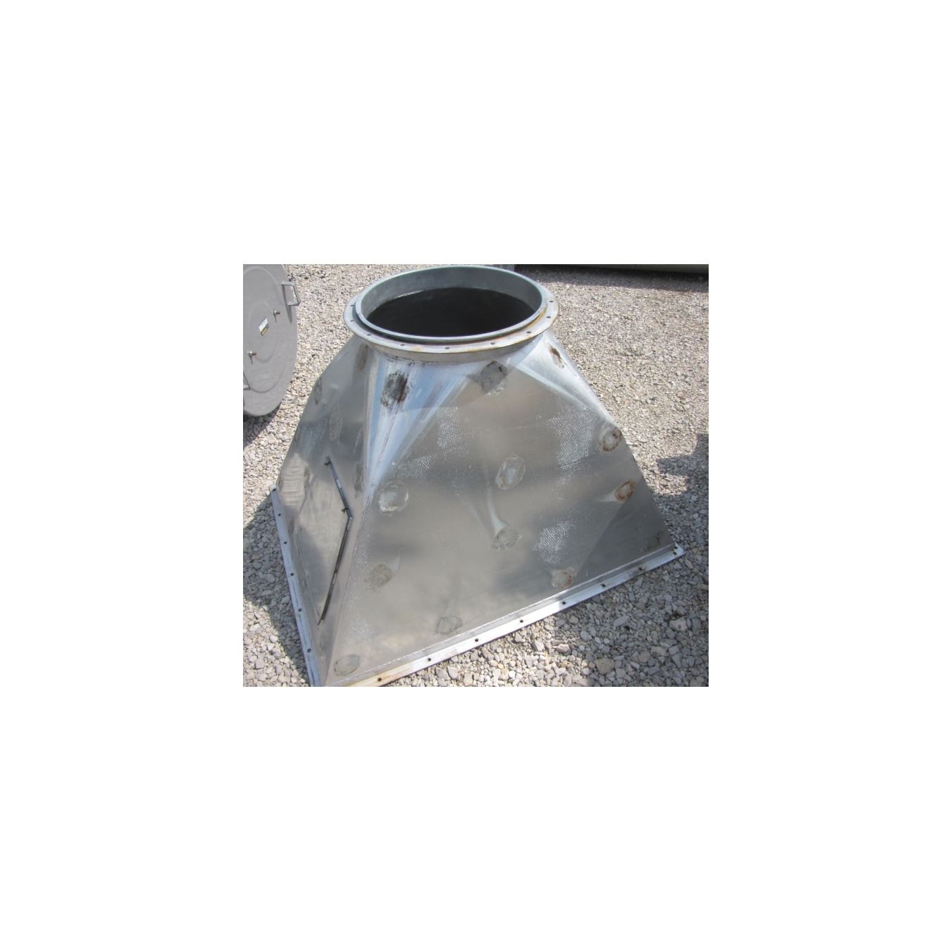 Used Aerofin Heat Exchanger Plate Fin Coil - Type W : Heat ...