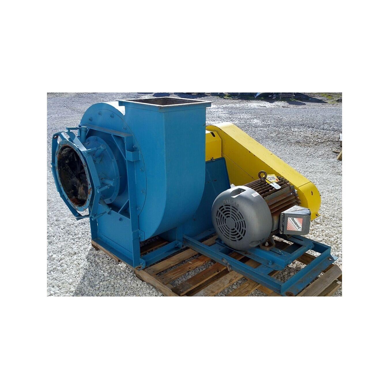 Pressure Vs Cfm Fan : Cfm quot sp used twin city high pressure industrial
