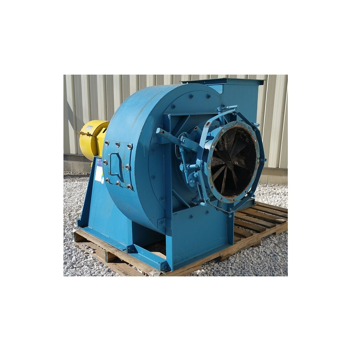 9 000 Cfm 35 Quot Sp Used Twin City High Pressure Industrial