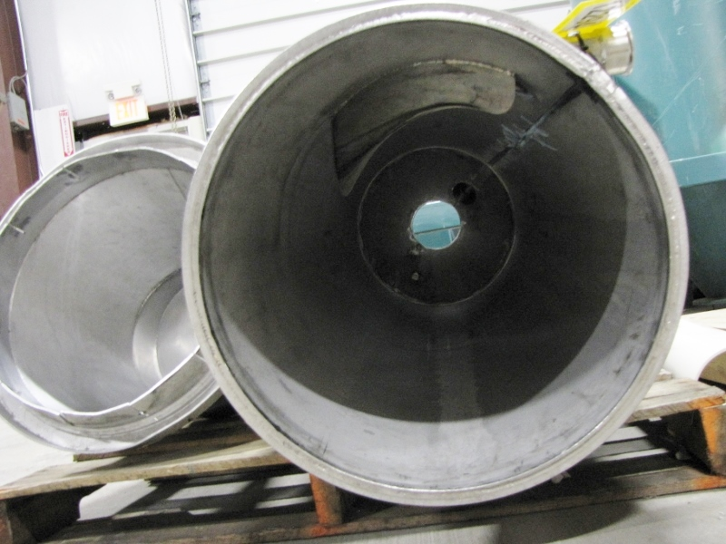 "Used 18""ø Stainless Steel Cyclone : Dust Collectors"