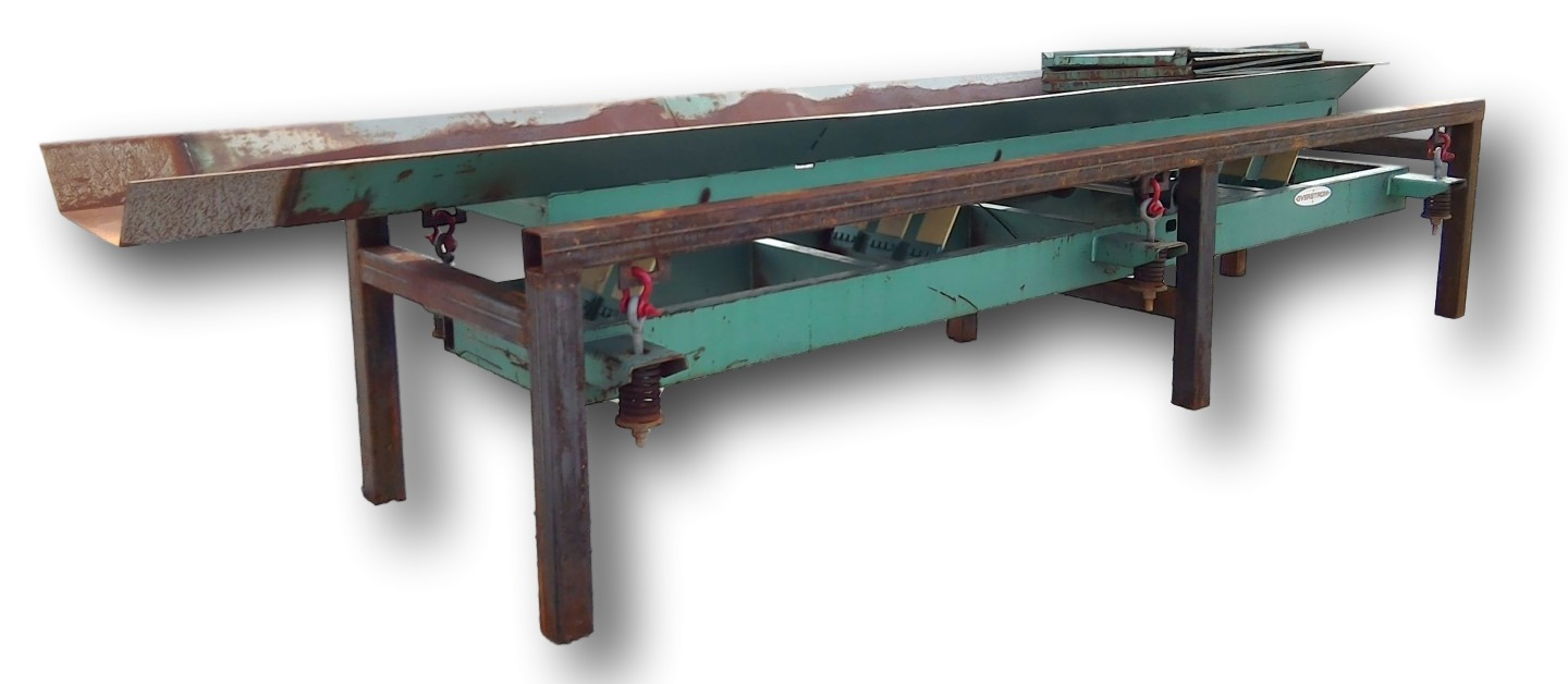 Used Triple S Rlu Natural Frequency Conveyor Table 24 W X