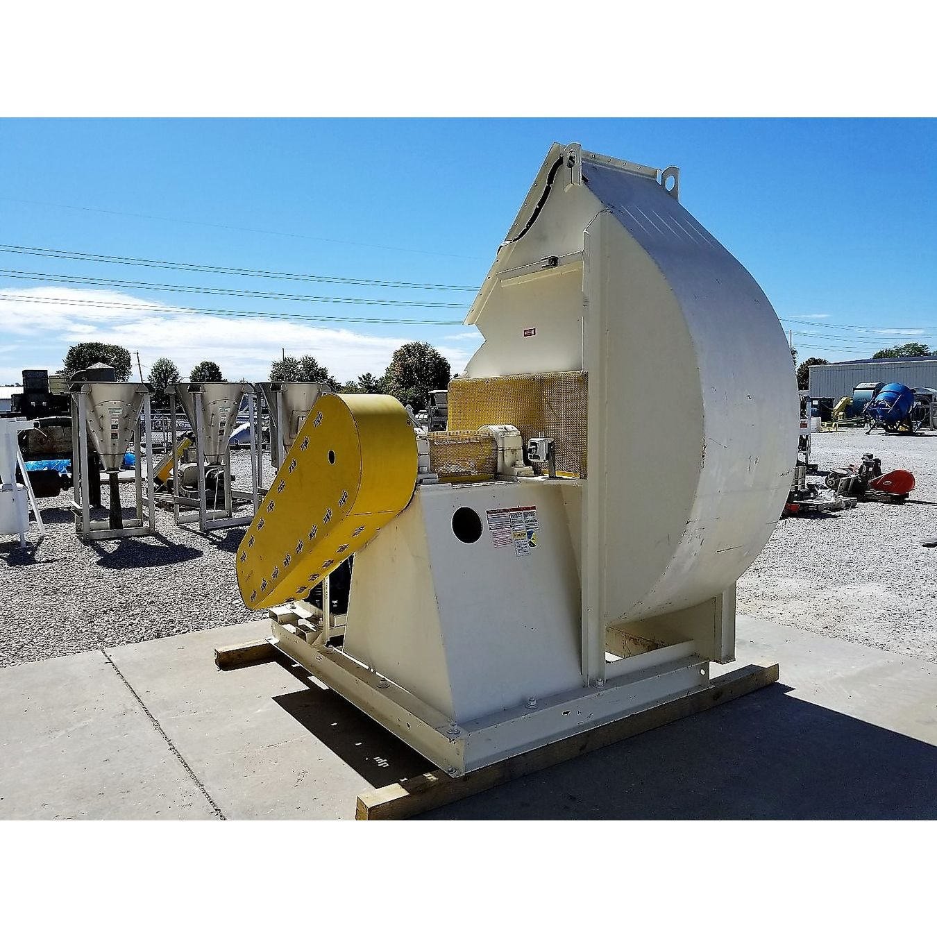 New York Blower Pressure Blower : Cfm quot sp used nyb new york blower fan size