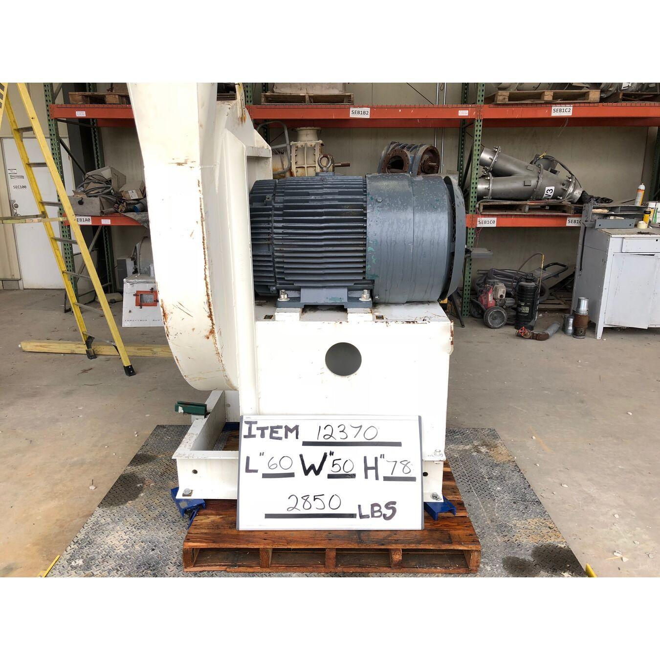 New York Blower Pressure Blower : Cfm quot sp new york hp pressure blower