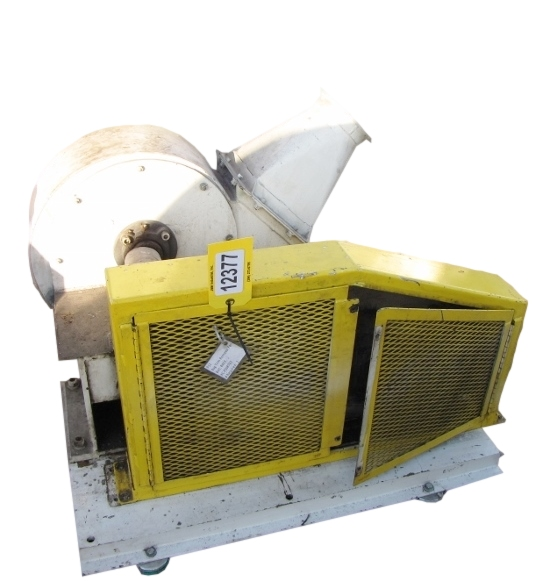 Centrifugal Fan Blades : Cfm quot sp used hp radial blade centrifugal fan