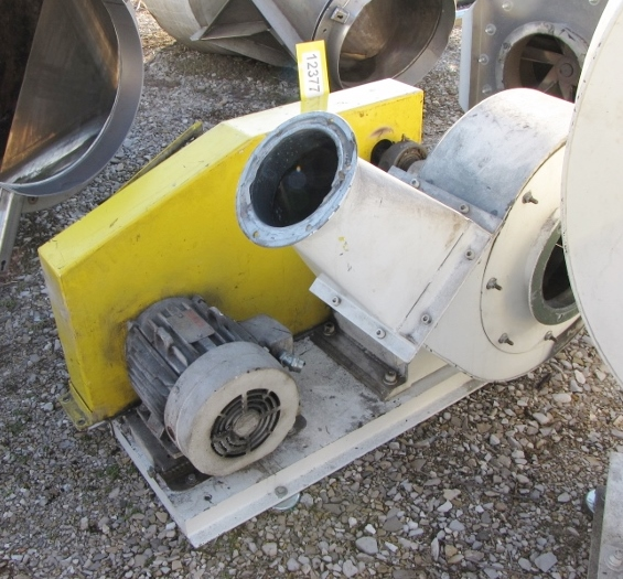 Radial Blade Blowers : Cfm quot sp used hp radial blade centrifugal fan