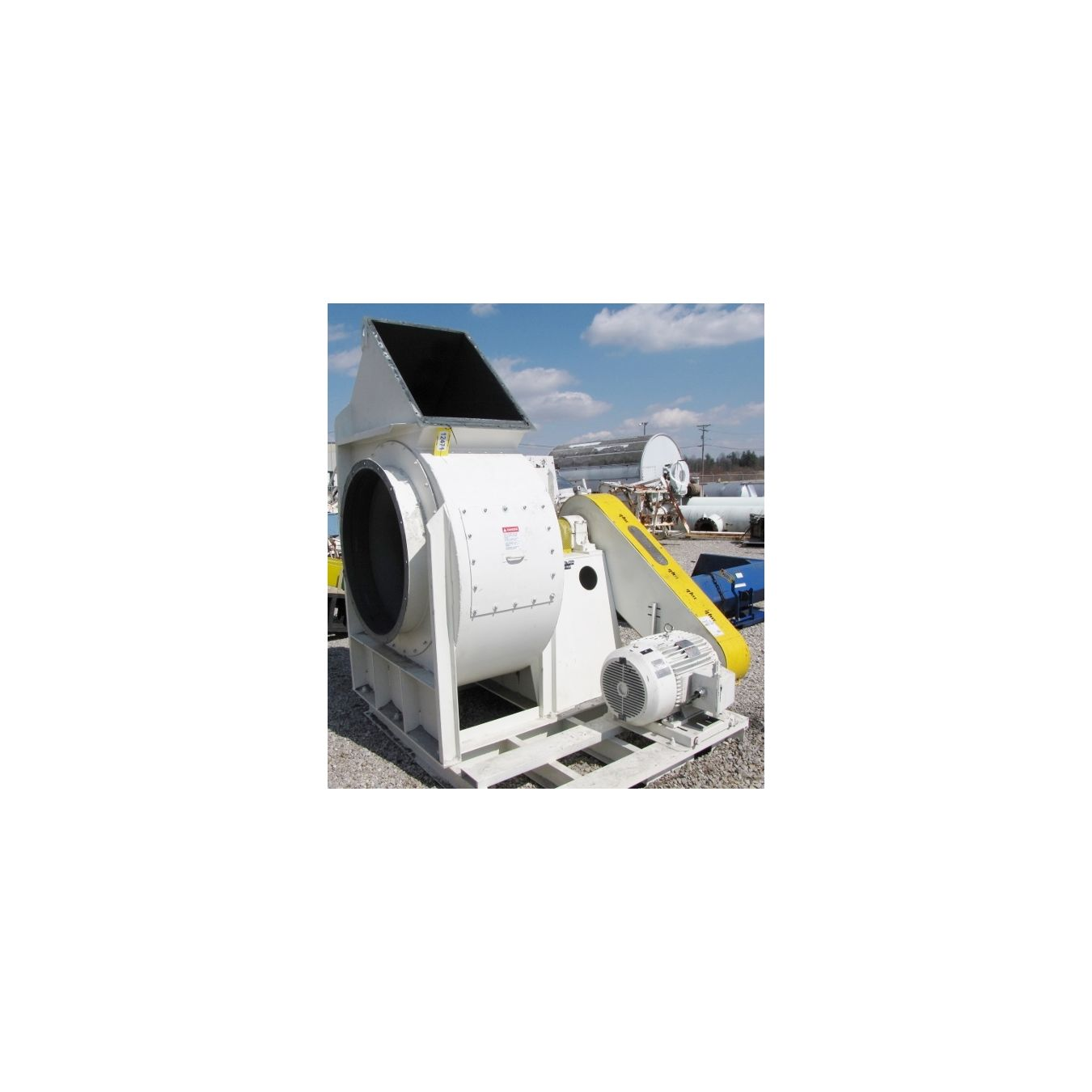 New York Blower Pressure Blower : Cfm quot sp used new york blower fan size rts