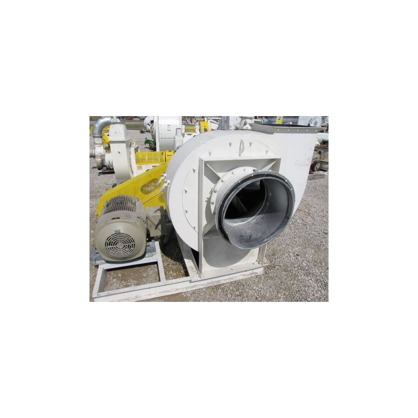 New York Blower Pressure Blower : Cfm quot sp used new york blower size ls
