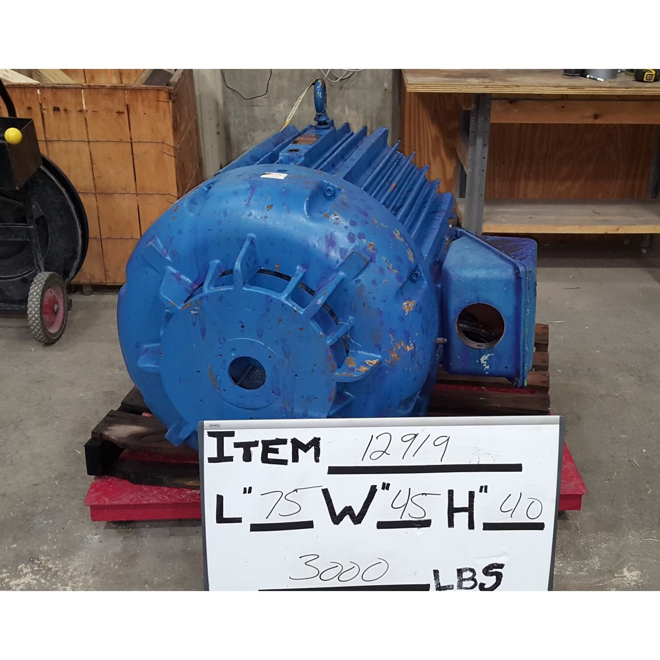 Used 200hp eastern electric motor l505 frame motors for 200 horsepower electric motor