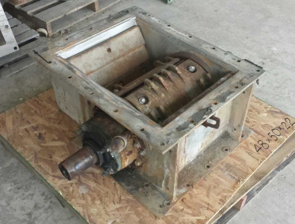 Clinker Grinding Unit : Used united conveyor corp crusher clinker grinder quot