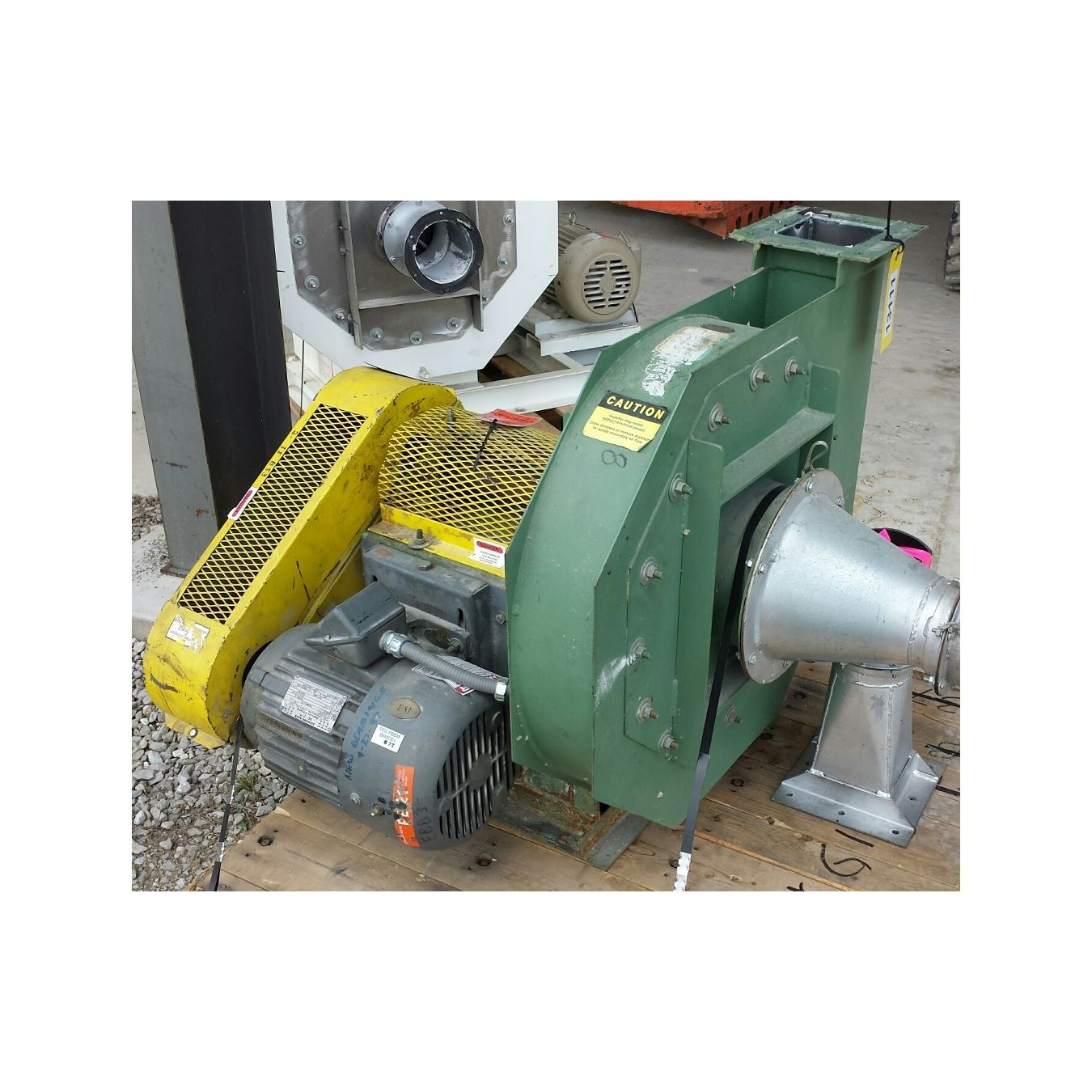 Pressure Blowers And Fans : Cfm quot sp used american fan avp turbo pressure