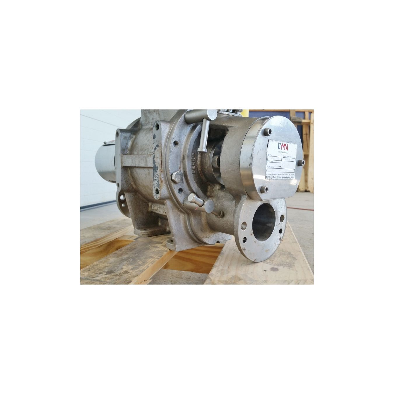Used quot dmn westinghouse stainless a dairy food grade