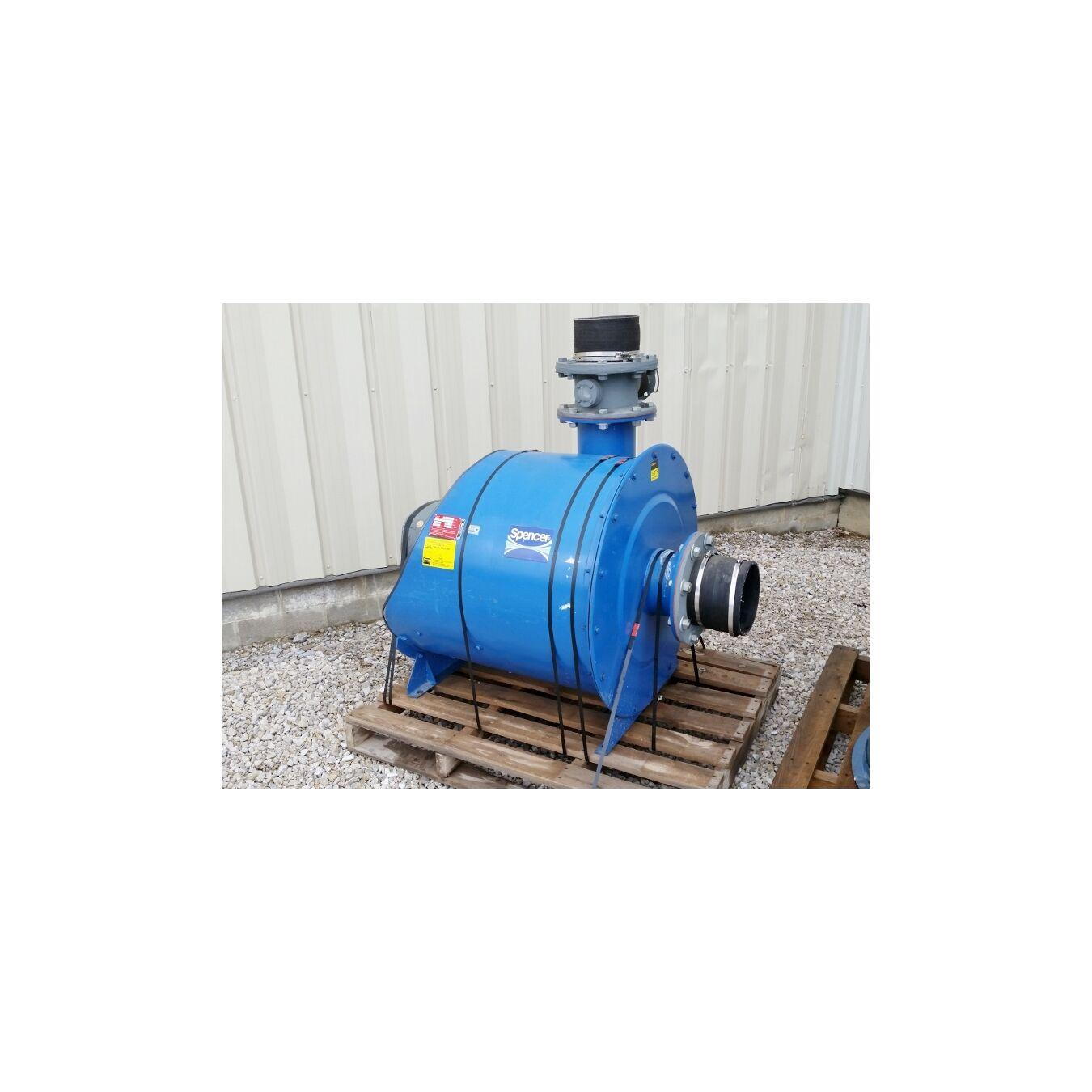 Industrial Dust Blowers : Cfm quot hg used hp spencer industrial vacuum