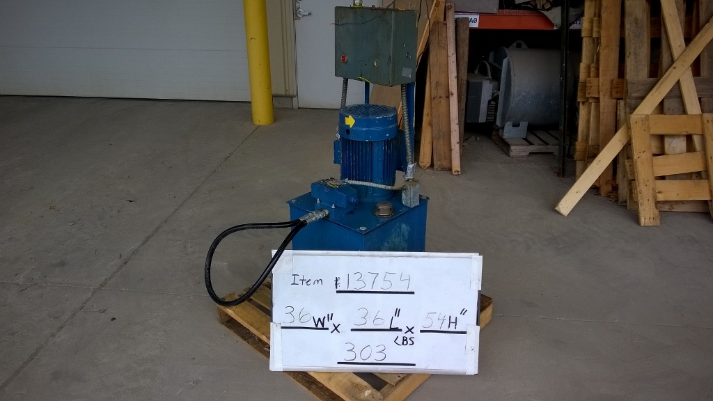 Used 5hp hydraulic power pack motors drives for 10 hp hydraulic motor